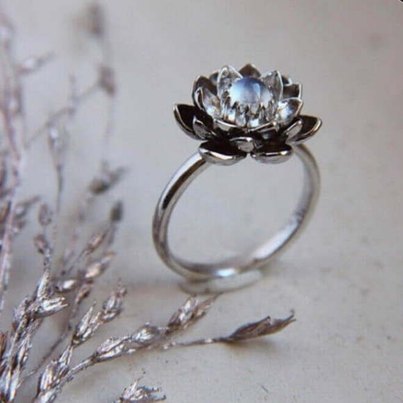 Jewelry Lotus Flower Ring Poshmark